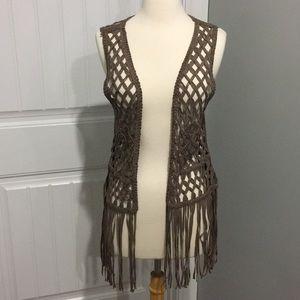 Gorgeous Daytrip Boho Fringe Vest